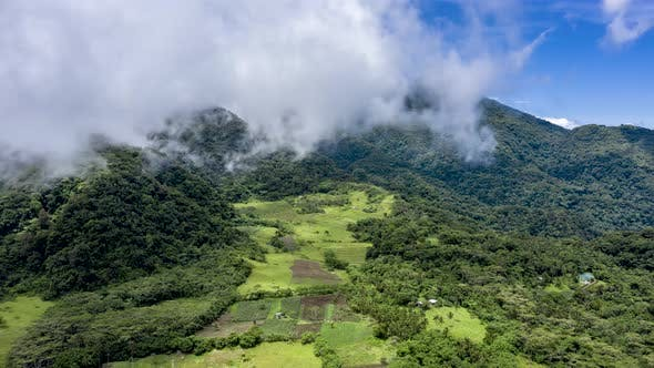 Thumbnail for Aerial Hyperlapse of Clouds on a Tropical Landscape
