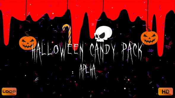 Thumbnail for Halloween Candy Pack Alpha HD