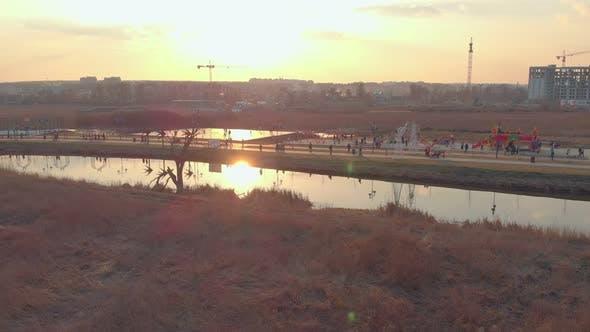 Park River Sunset