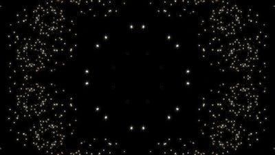 Glitter Light Kaleidoscope 4K Loop