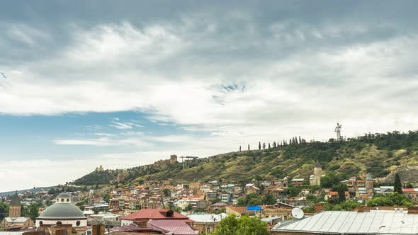 Thumbnail for The Roofs of the Old City in Tbilisi. Georgia