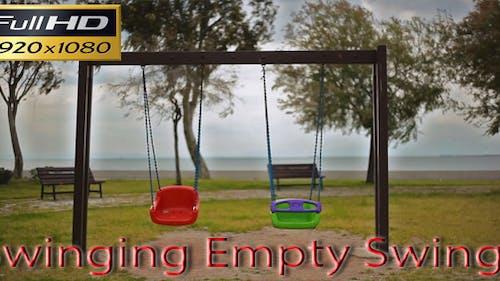 Swinging Empty Swings