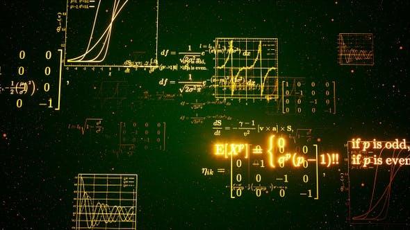 Thumbnail for Math Formulas Background