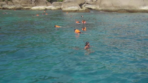 Cover Image for Snorkeling Near Similans