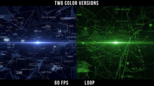 Digital Network - Background Loop 60 fps