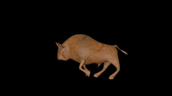 Thumbnail for Old Wood Bull Run Transparent Alpha Loop