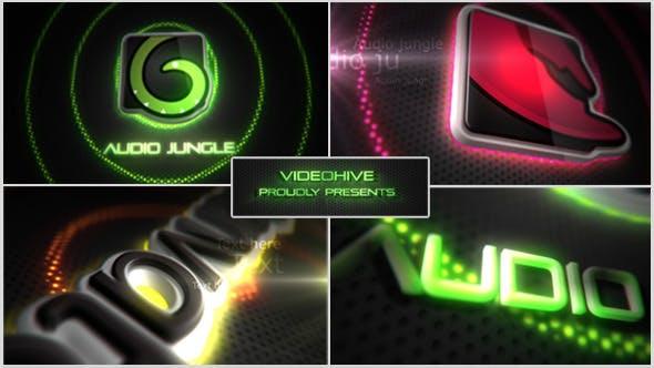 Thumbnail for Neon/Vegas Lights Logo Reveal