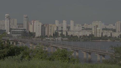City Landscape of Kyiv. Ukraine