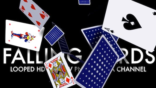 Thumbnail for Playing Cards - Falling Loop