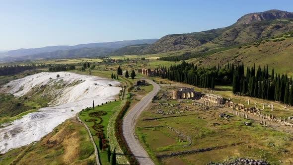Thumbnail for Ancient ruins of Hierapolis.