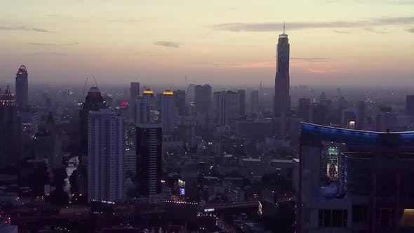 Thumbnail for Sukhumvit Aerial View in Central Bangkok in Thailand
