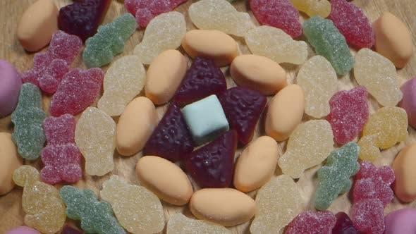 Bonbons Sucrés Et Délicieux Sucre 4