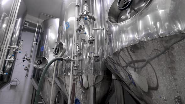Inside the Moder Craft Brewery