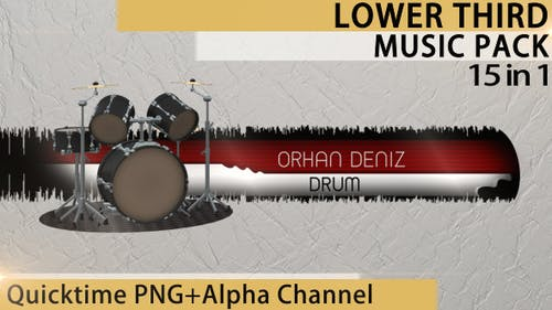 Lower Third Music Pack