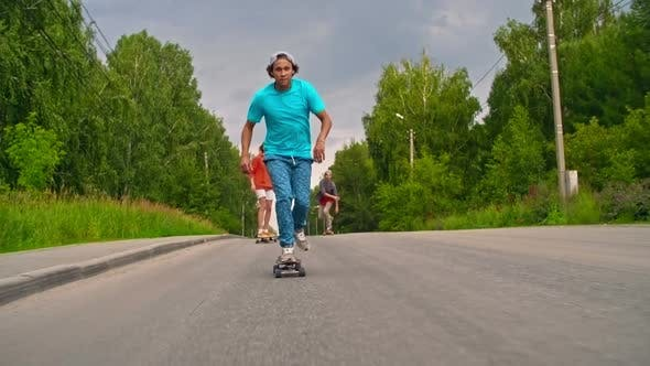 Thumbnail for Exhilarating Longboarding Experience