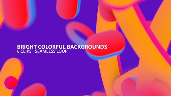 Thumbnail for Bright Colorful Abstract Backgrounds