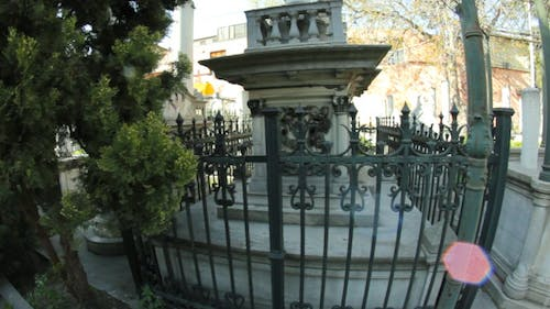 Cemetery With Tombs and Graves 4