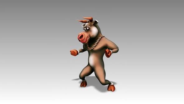 Thumbnail for Happy Bull - Cartoon Dance 1