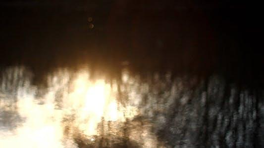 Thumbnail for Sunshine Bokeh Reflection In River Water 3