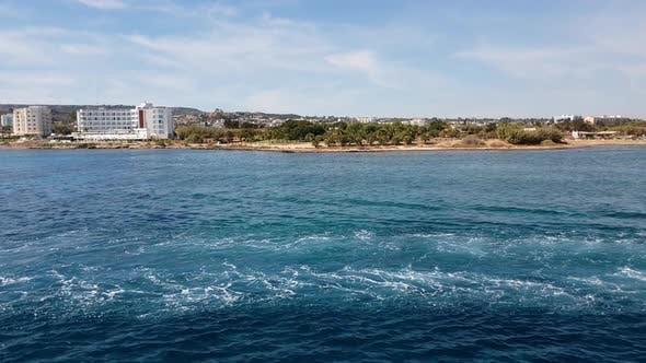 Thumbnail for Mediterranean Traffic Along Pernera, Cyprus