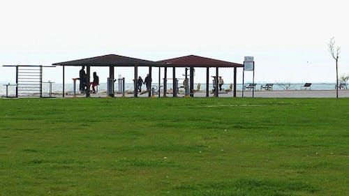 Training Area Near the Seaside