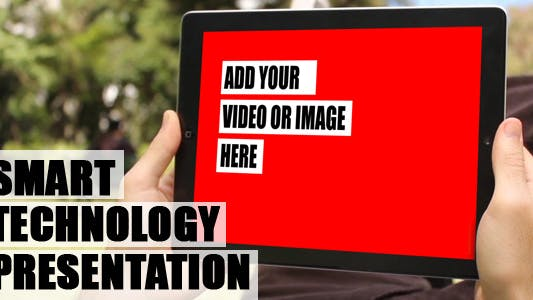 Smart-Technologie-Präsentation