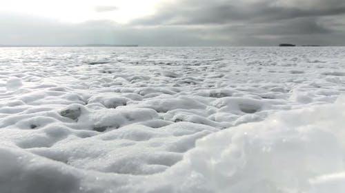 Snowfield To The Horizon