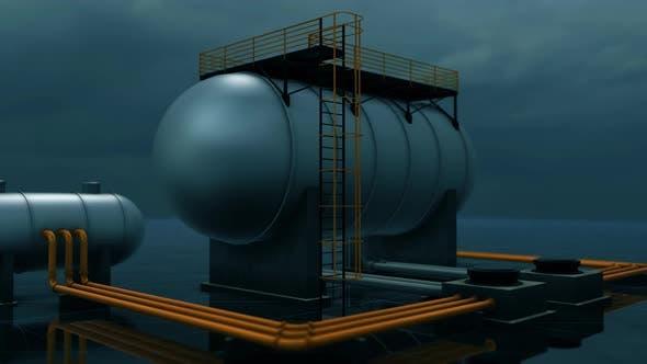 Industrial Silo Capacity 4k