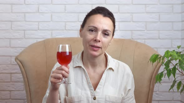 Online Chatting with Drinks