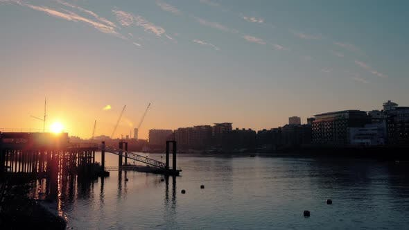 Thumbnail for River Thames Sunrise London