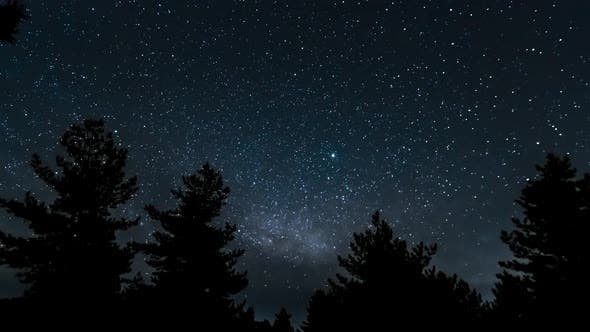 Thumbnail for Universe Galaxy Milky Way in Starry Sky
