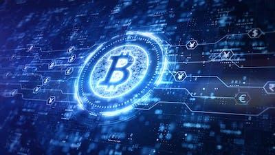 Bitcoin Blockchain Crypto Currency 965