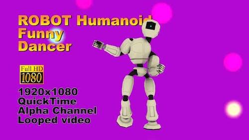 Sport Dancing Robot Person