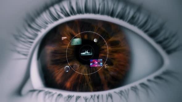 High Tech Eye Device (Smart Contact Lens)