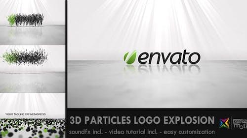 3D Particles Logo Explosion