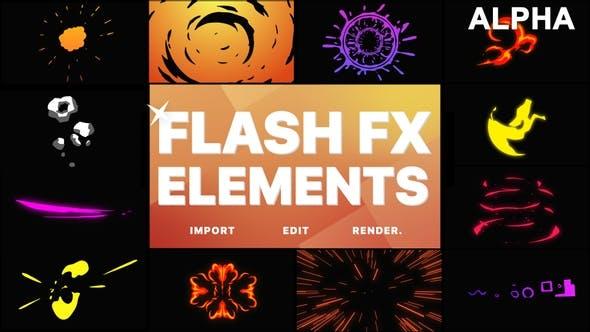 Pack Flash FX | Graphiques animés