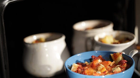 Thumbnail for Mutton Meat and Potatoes Baked in a Pot 1