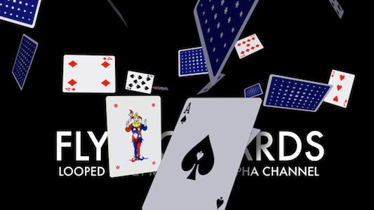 Thumbnail for Playing Cards - Flying Loop