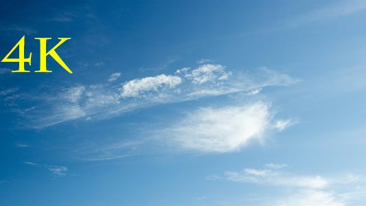 Cover Image for Thin Clouds Blue Sky