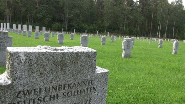 Thumbnail for German Soldiers World War II Latvia Cemetery