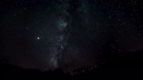 Milky Way Galaxy Time Lapse