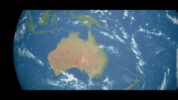 Thumbnail for Cinematic 4K Earth - Australia