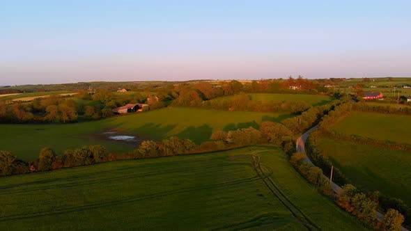 Thumbnail for Beautiful farmland on a sunny day