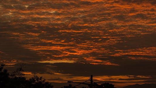 Thumbnail for Cloudy Sunrise Time Lapse