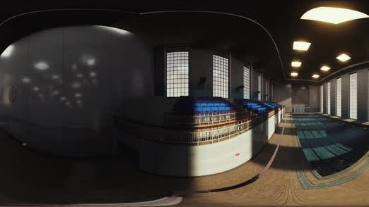 VR360 Empty Sport Swimming Pool