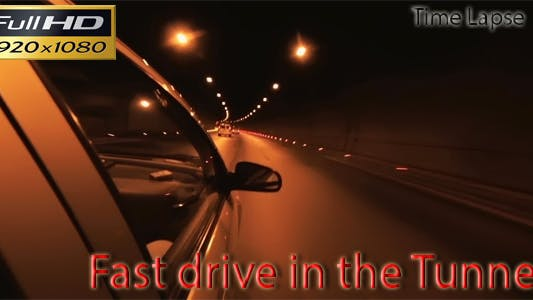 Thumbnail for Fast Drive in the Tunnel