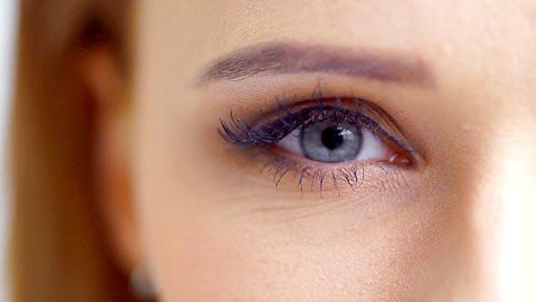Thumbnail for Eye of a Beautiful Girl