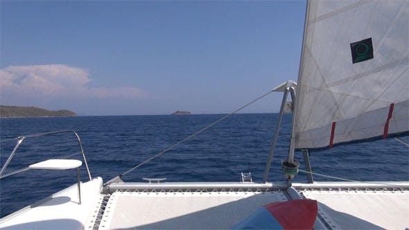 Catamaran Bow