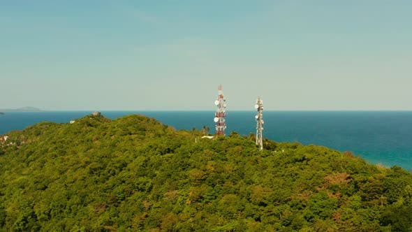 Thumbnail for Telecommunication Tower, Communication Antenna in Asia