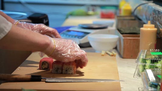 Thumbnail for Sushi Seafood Preparation 4